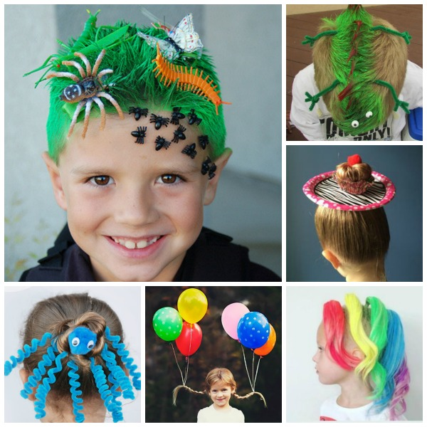 crazy hair day ideas for kids 00