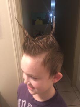 Liam Crazy Hair