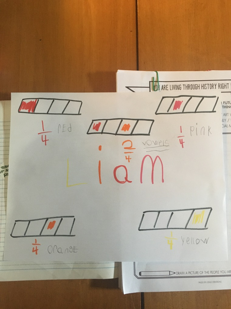 Liam Fraction Work